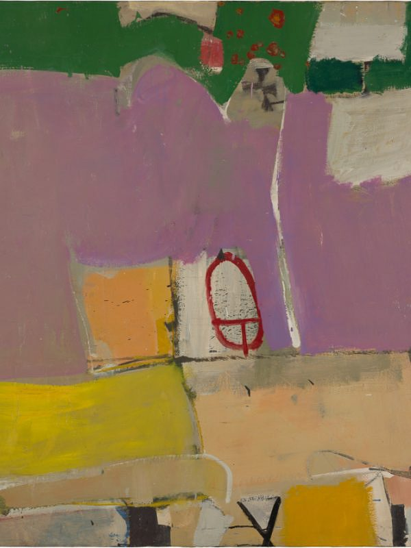 Richard Diebenkorn, Albuquerque #4, 1951 Oil on canvas, 128.9 x 116.2 cm